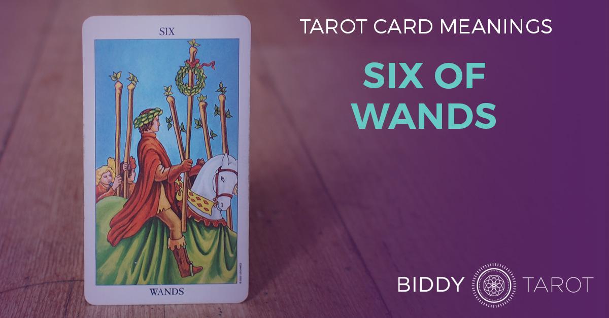 Six of Wands Tarot Card Meanings | Biddy Tarot