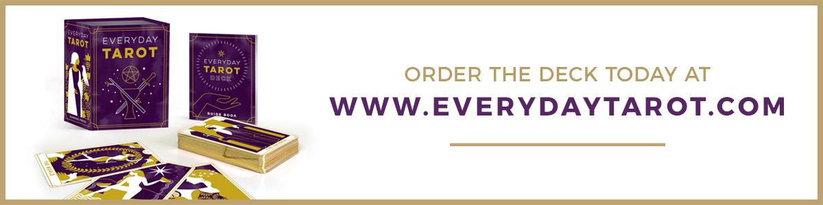 Everyday Tarot Deck Order