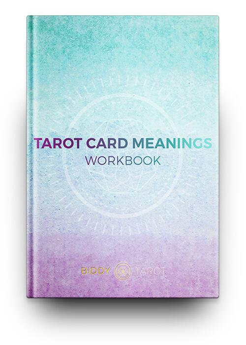 Tarot Card Meanings Workbook