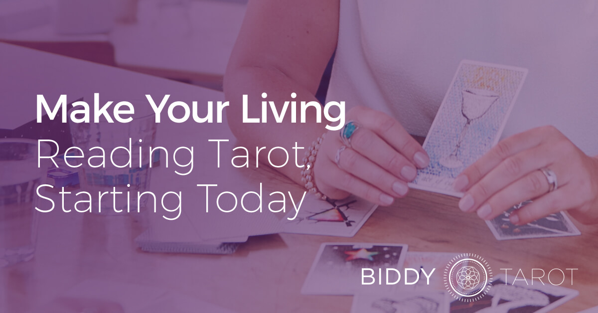Make Your Living Reading Tarot