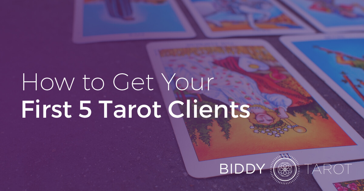 First Tarot Clients
