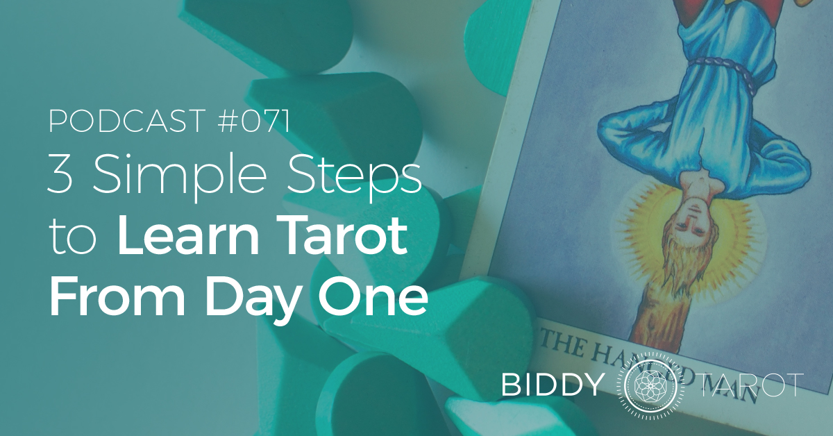 3 simple steps to learn Tarot from day one
