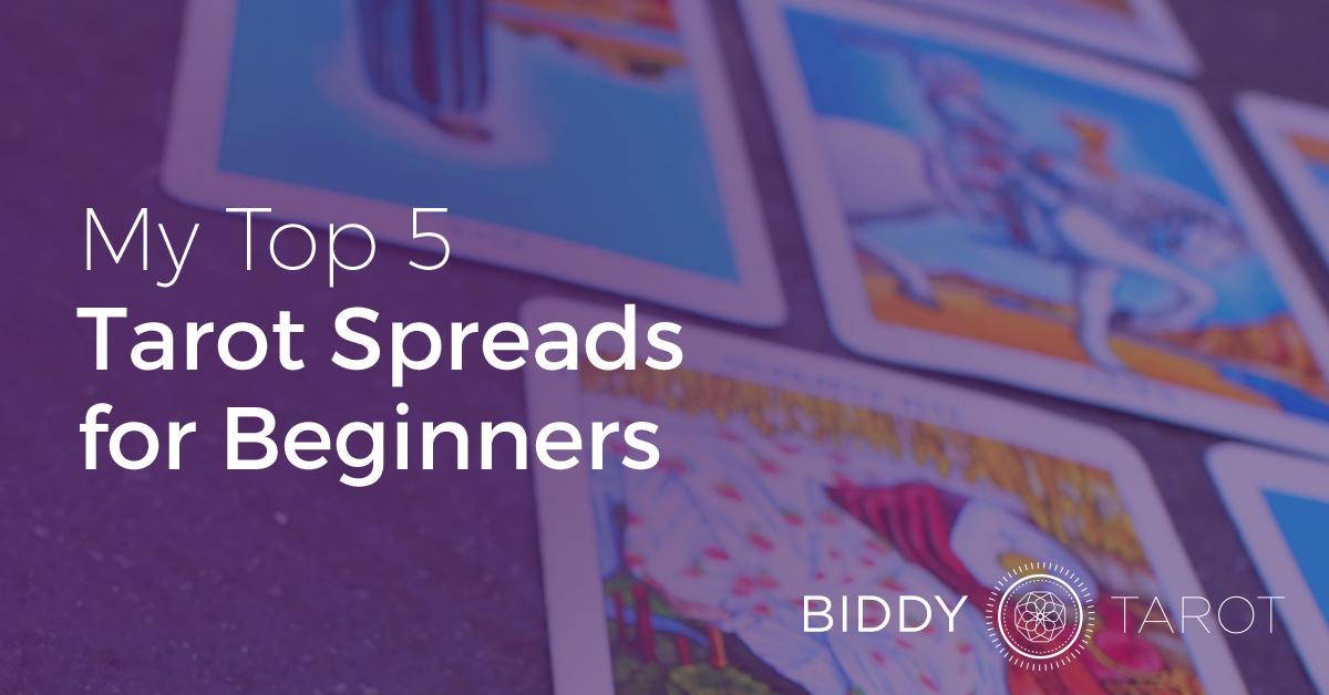 Top 5 Tarot Spreads For Beginners