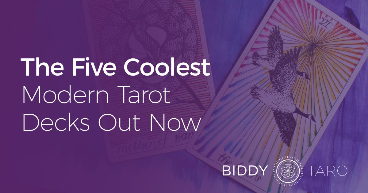 Coolest Modern Tarot Decks