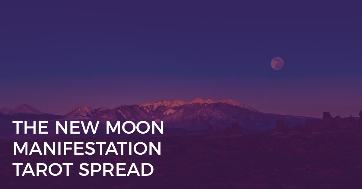 New Moon Manifestation Tarot Spread   BiddyTarot Blog