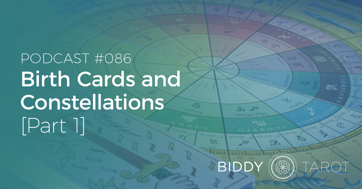 birth cards and constellations