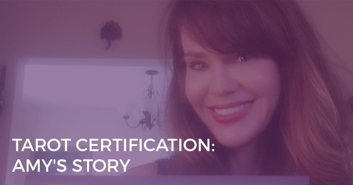 Tarot Certification: Amy's Story