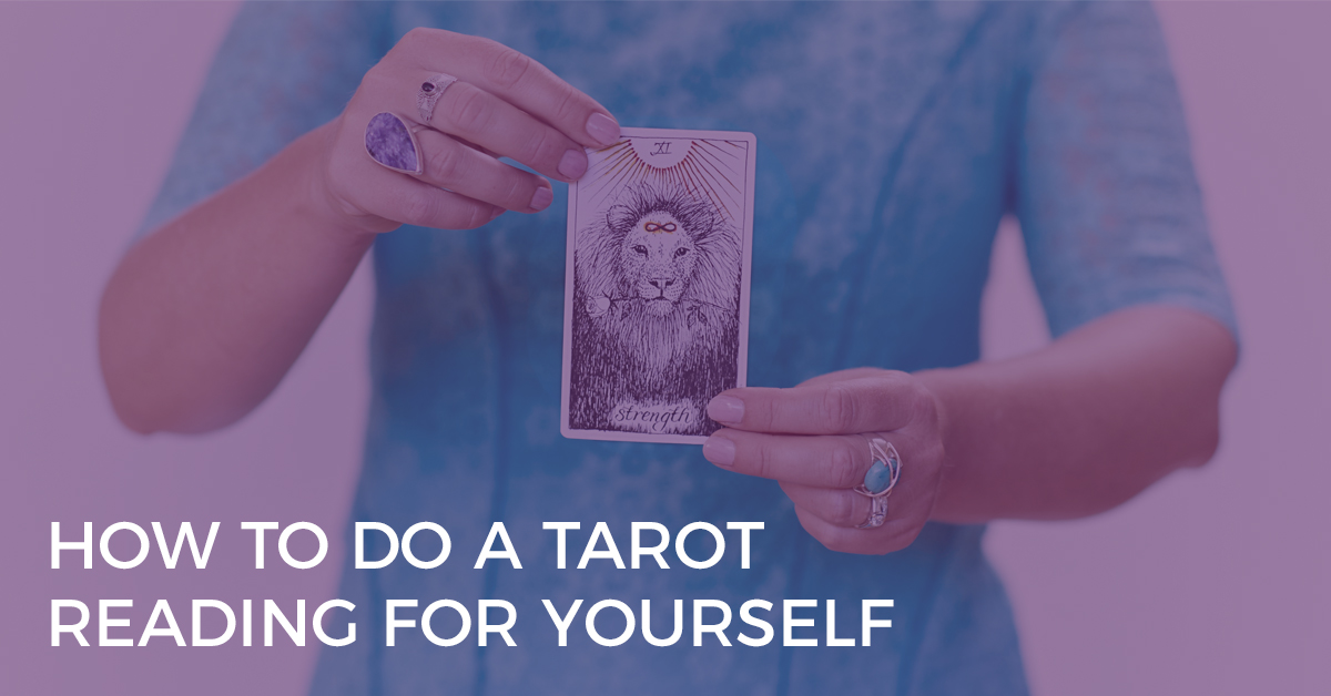 How to Do a Tarot Reading For Yourself | Biddy Tarot