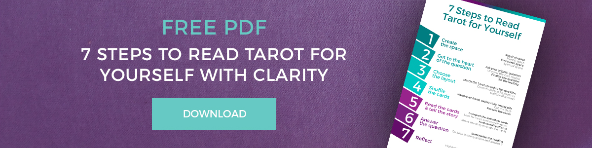 7 steps to read tarot for yourself
