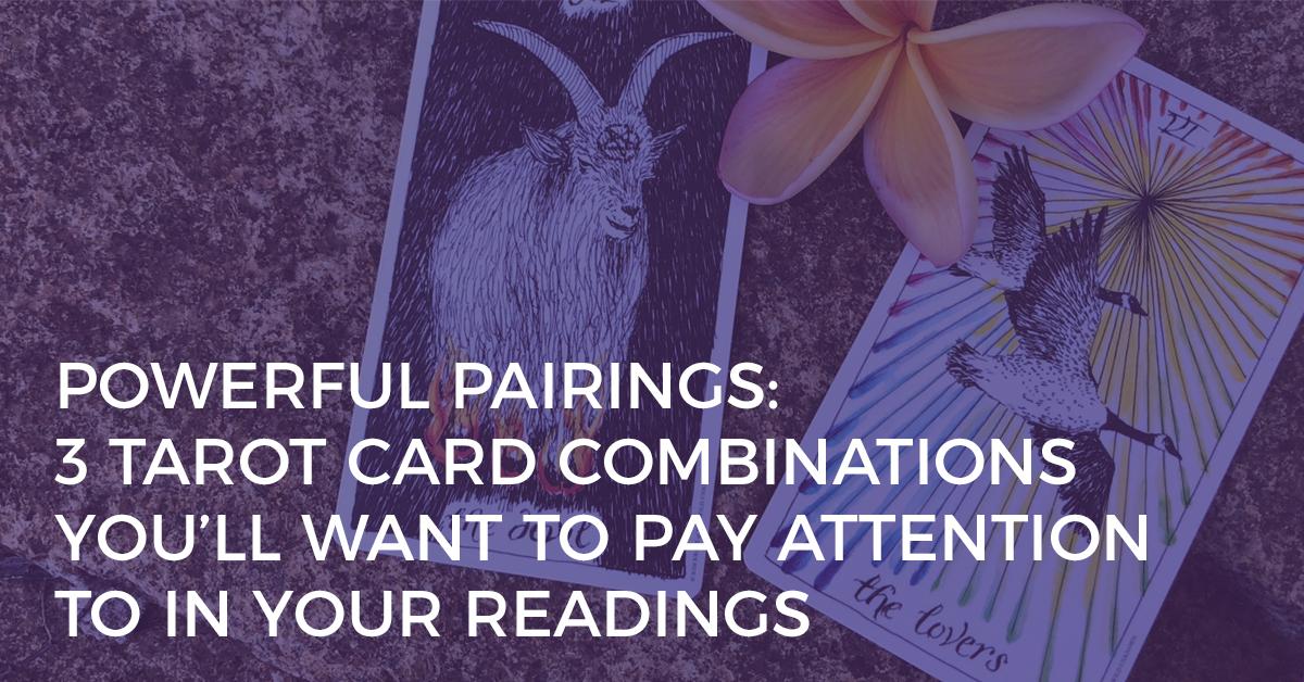 powerful tarot card pairings