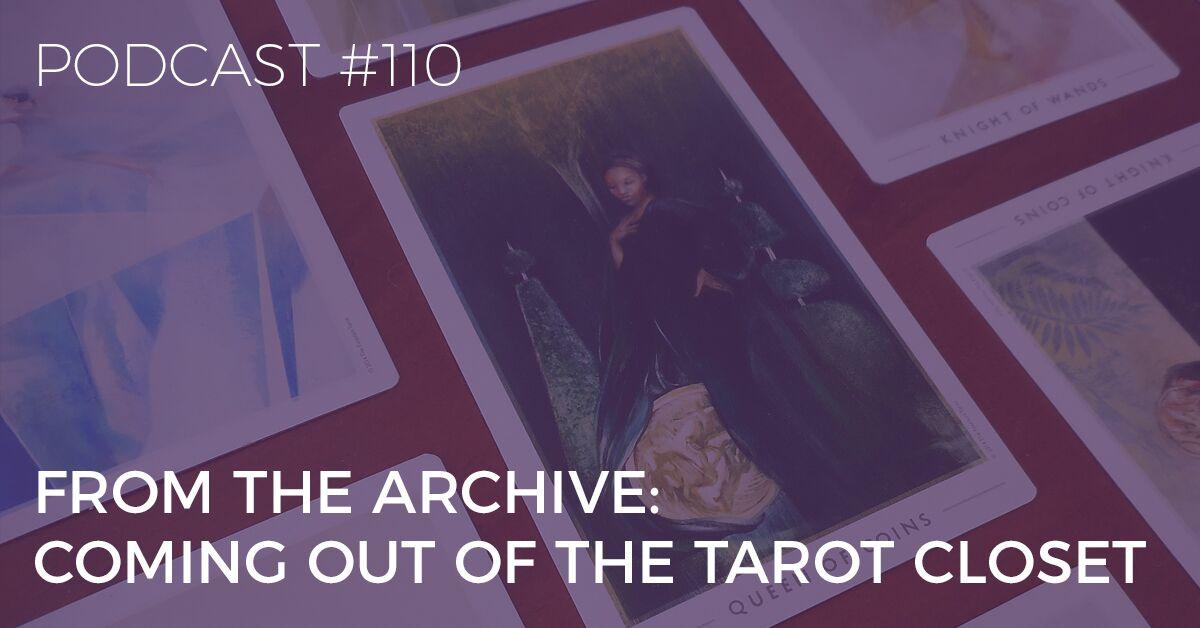 coming out of the tarot closet