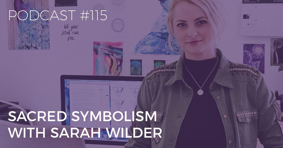 sacred symbolism with sarah wilder