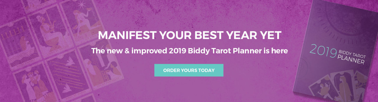 Biddy Tarot Planner