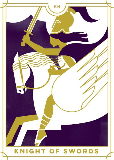 Knight of Swords Tarot Card Meanings tarot card meaning