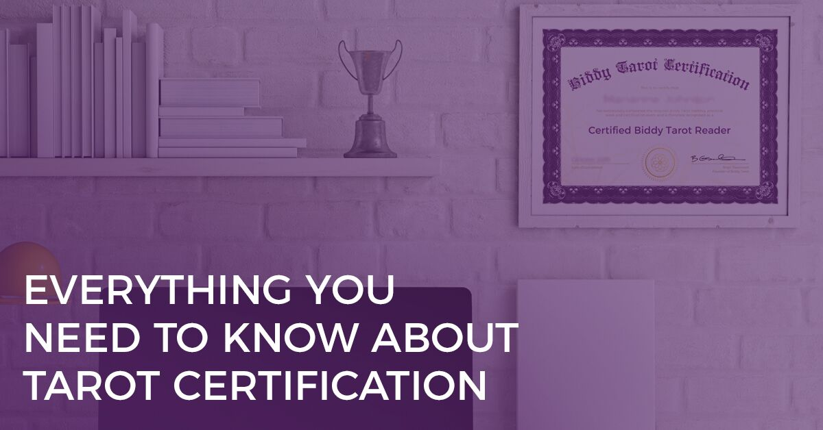 everything you need to know about tarot certification