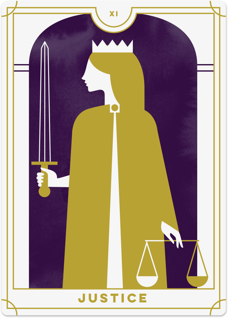 Justice Tarot Card Meanings tarot card meaning