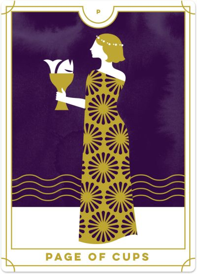 Page of Cups Tarot Card Meanings | Biddy Tarot