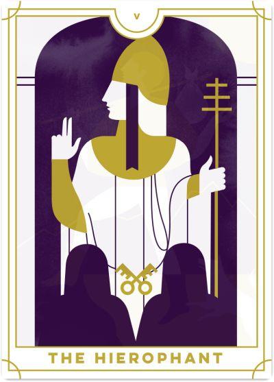 Hierophant Tarot Card Meanings | Biddy Tarot  Hierophant Taro...