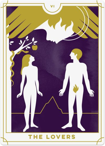 Lovers Tarot Card Meanings tarot card meaning