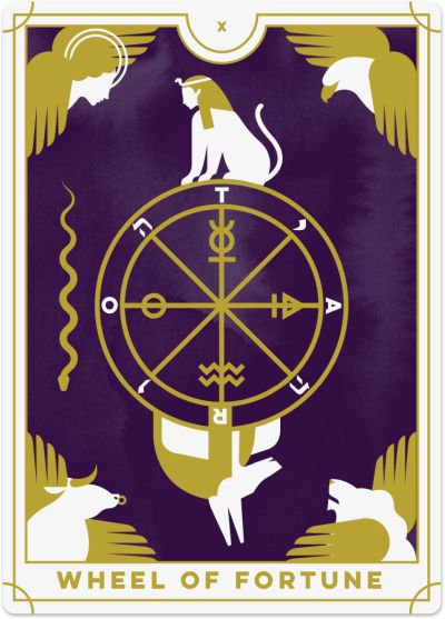 Wheel Of Fortune Tarot Card Meanings