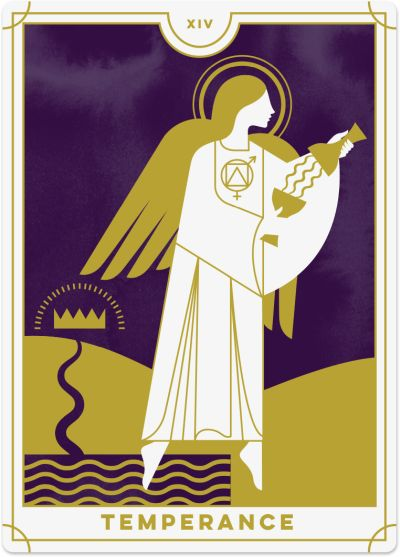 Temperance Tarot Card Meanings tarot card meaning