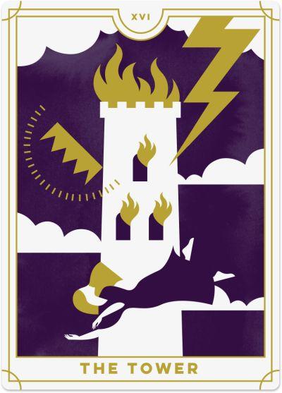 tower tarot card meanings biddy tarot