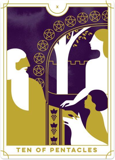 Ten Of Pentacles Tarot Card Meanings