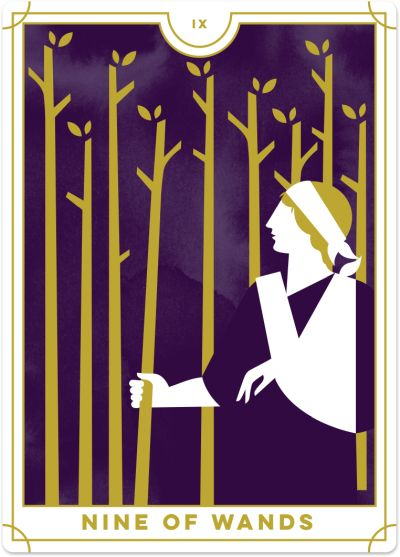Nine of Wands Tarot Card Meanings tarot card meaning