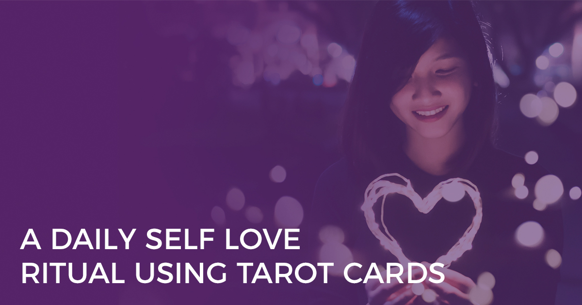Try this self-love #tarot ritual from Everyday Tarot. It's perfect for reaffirming all the beautiful parts of yourself and why you are ever so deeply in love with yourself | Biddy Tarot