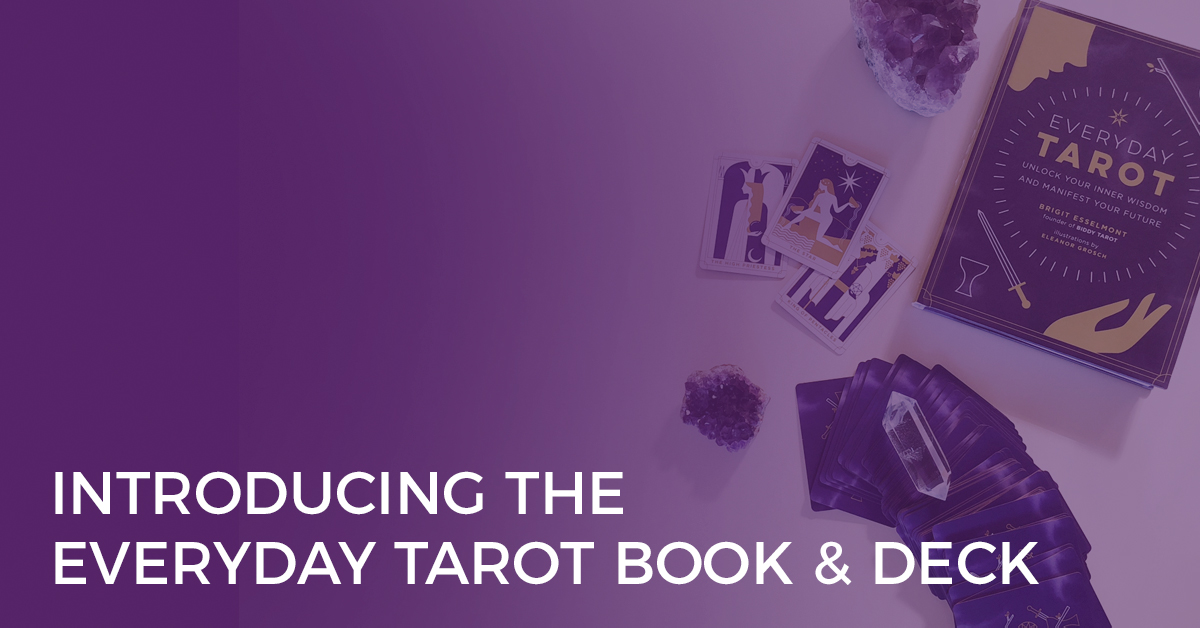 introducing the everyday tarot book and deck