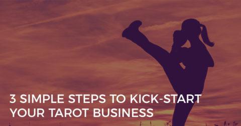 kick start your tarot business