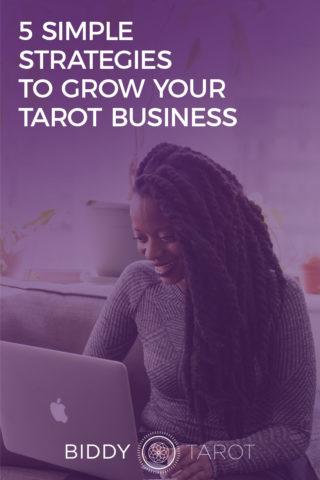 grow your tarot business