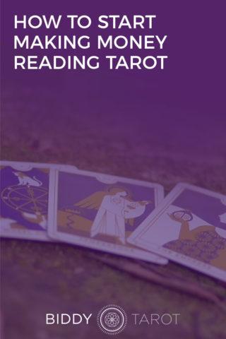 make money reading tarot