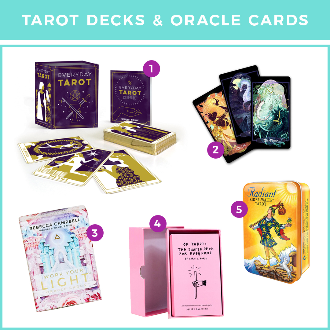 Tarot Decks and Oracle Cards