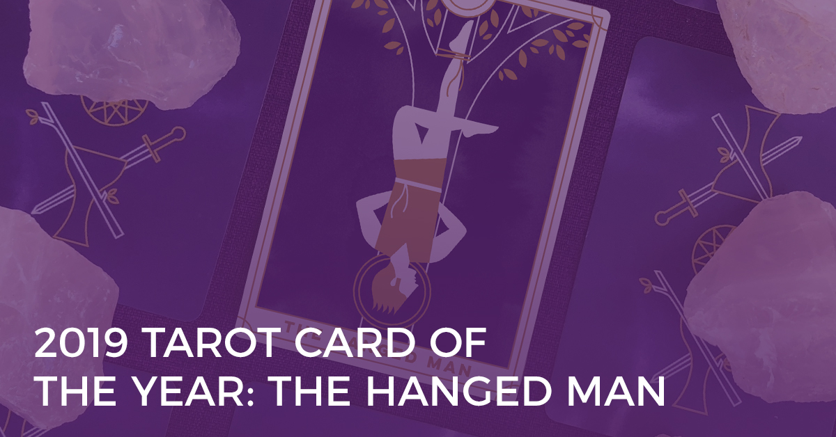 2019 Tarot Card of the Year: The Hanged Man