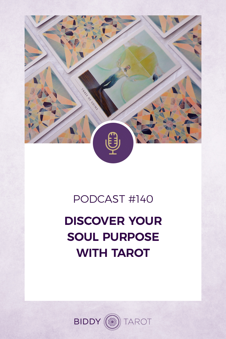 Discover Your Soul Purpose with Tarot | Biddy Tarot | Podcast Three of Coins from Fountain Tarot