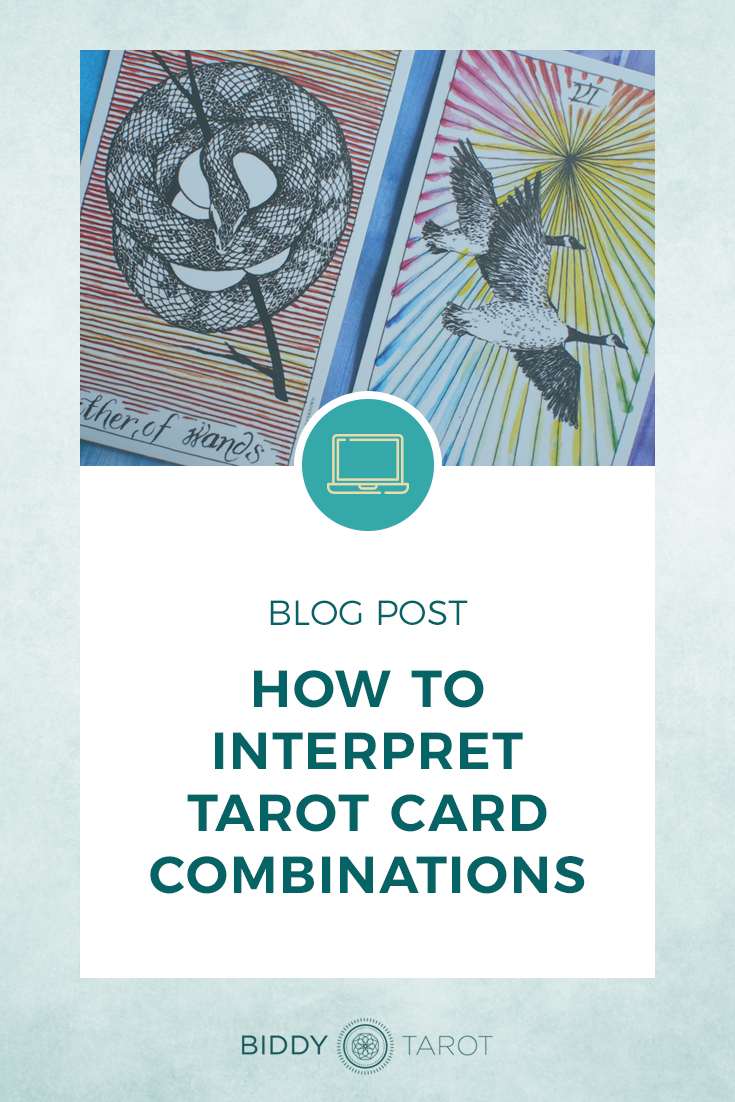 How to Interpret Tarot Card Combinations | Biddy Tarot - tarot cards pictured from the Wild Unknown
