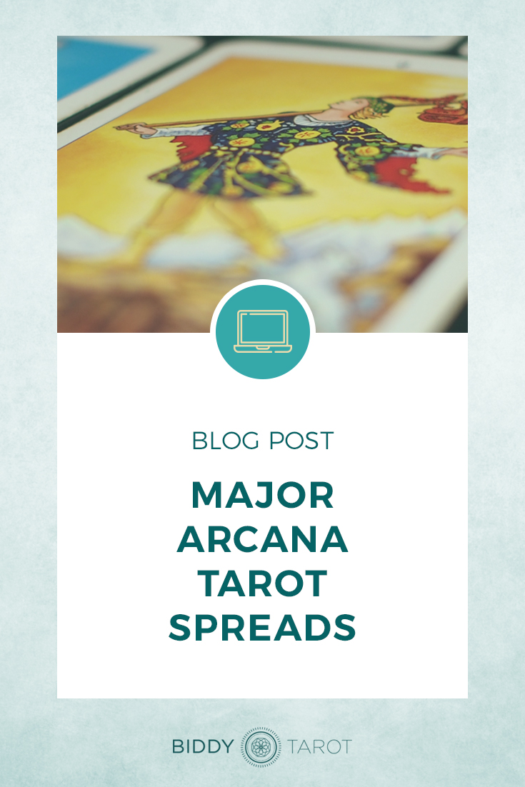 Major Arcana Tarot Spreads | Biddy Tarot