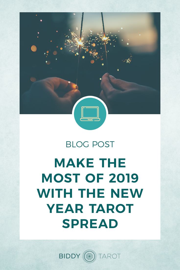 Make the Most of the New Year with the New Year Tarot Spread | Biddy Tarot