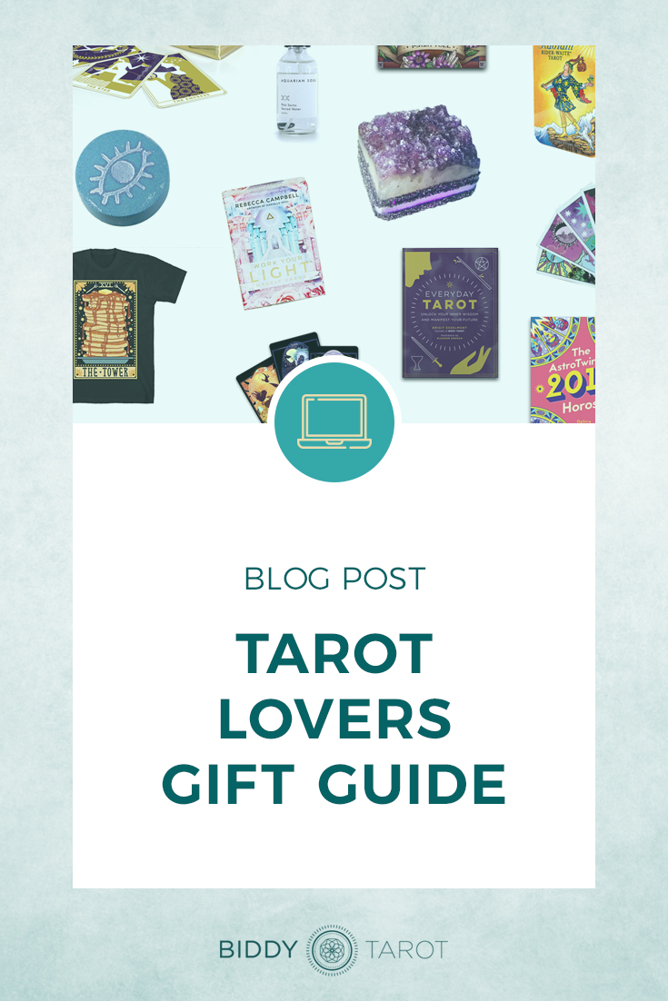 Tarot Lovers Gift Guide | Biddy Tarot