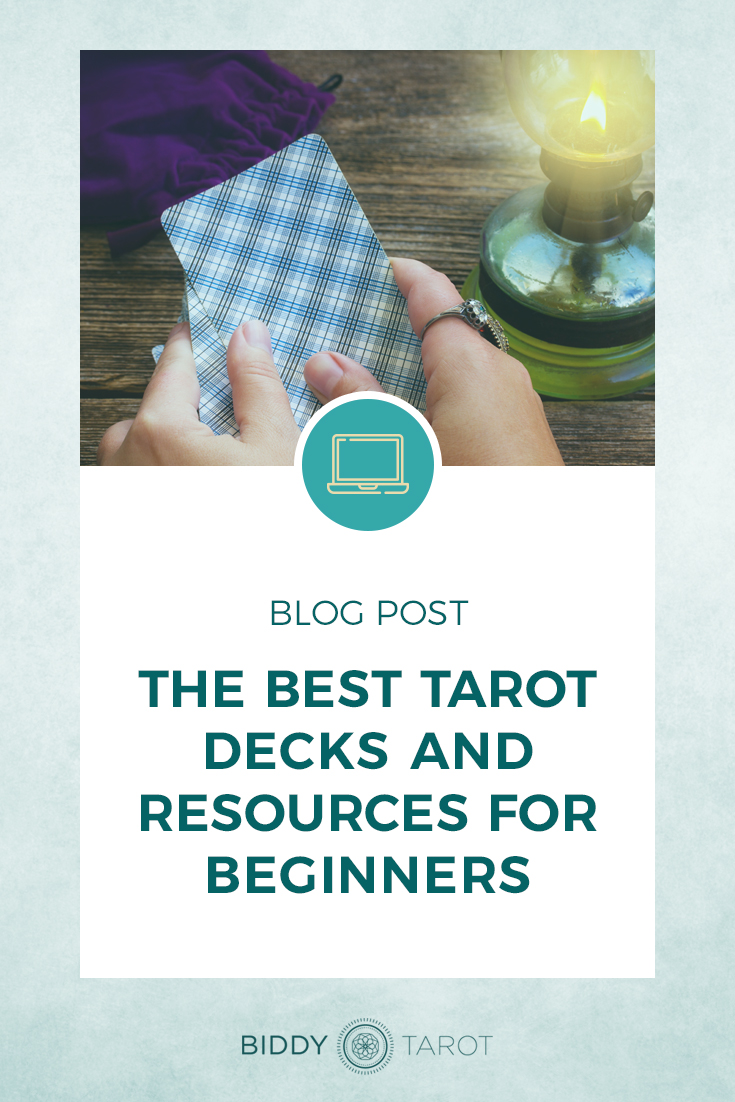 The Best Tarot Decks and Resources for Beginners | Biddy Tarot | Blog Post