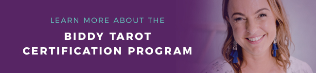 Learn More About The Biddy Tarot Certification Program