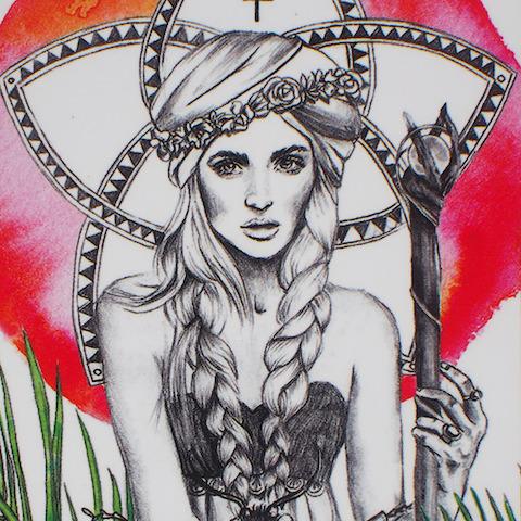 The Empress, Lumina Tarot