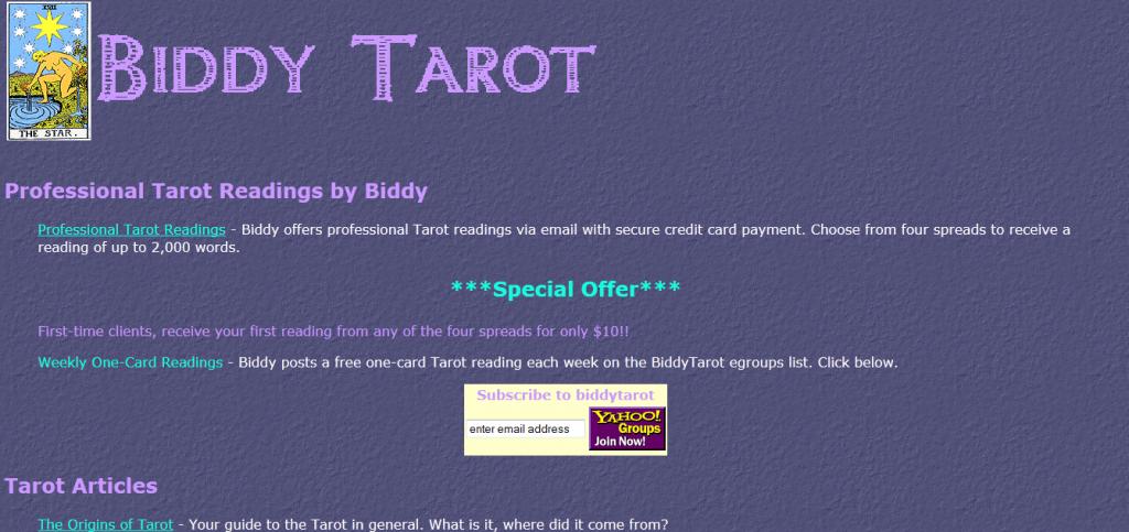 first-tarot-website