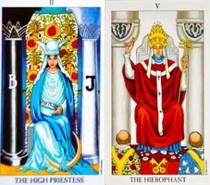 THE ST, TROS, & TAROT - Page 3 Highpriestess-hierophant-tarot-cards-300x265