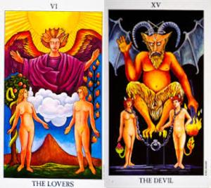 lovers-devil-tarot-cards